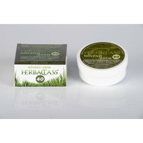 """Herbaclass növényi krém """"40""""-es 100 ml"""