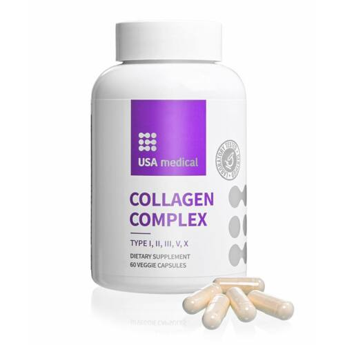 Collagen Complex - USA Medical - 60 db