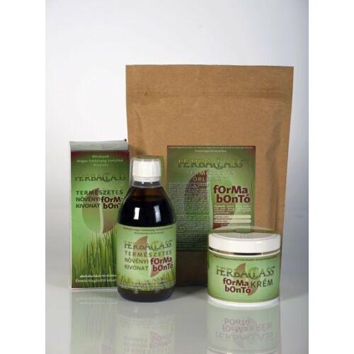 Herbaclass formabontó csomag - Kivonat, krém, őrlemény
