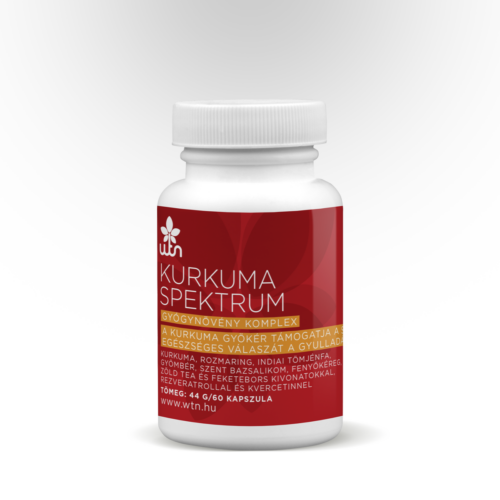 Kurkuma spektrum - az extra kurkuma 60 db